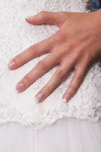 wedding hand and nail care