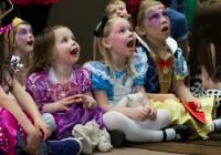 children being entertained